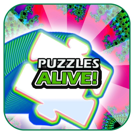 Animated Jigsaw Fractals (Puzzles Alive)