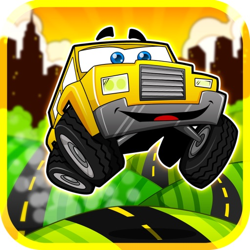 Cartoon Car Race Lite icon
