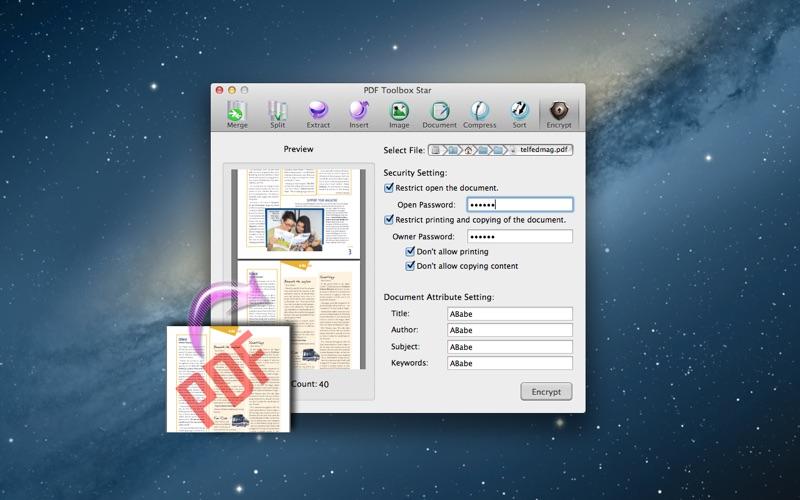 PDF Toolbox Star 앱스토어 스크린샷