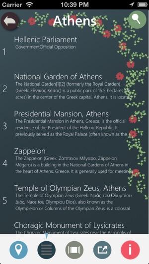 Athens Planner Screenshot