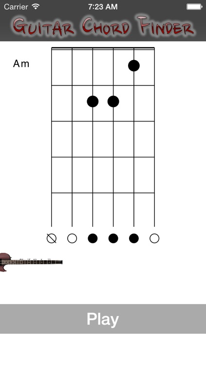 Guitar Chord Finder by FrogByteZ