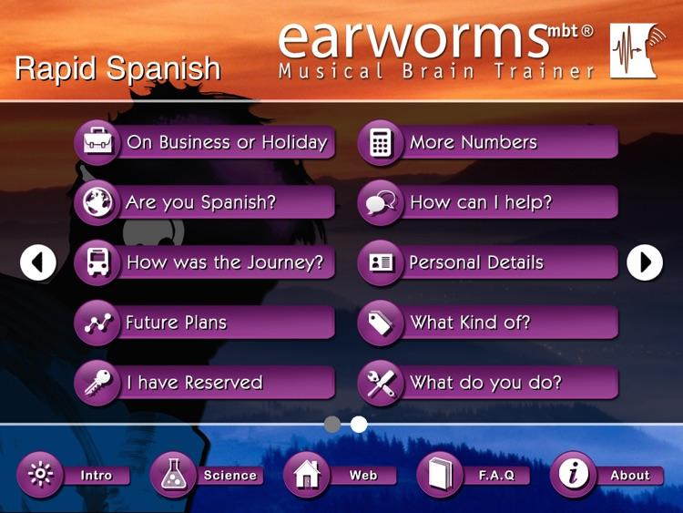 972ac9d0964a Rapid Spanish for iPad by earworms Ltd