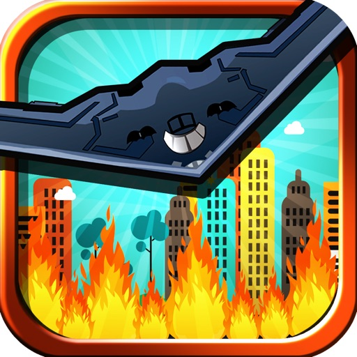 Modern War Bombing Run FREE - City Skyline Bomber Mayhem iOS App
