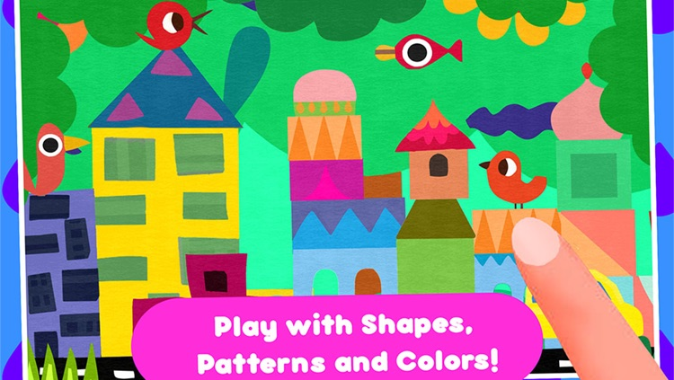 Paper Cut Studio – cutting and painting activity for children - create craft collage illustration and art