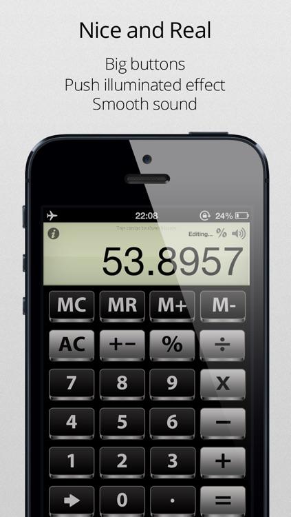 Calculator - The simplest, useful and elegant calculator screenshot-4