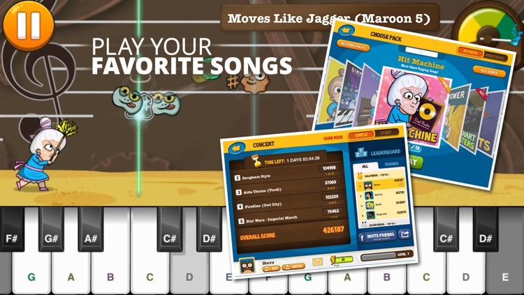 Piano Dust Buster by JoyTunes screenshot-3