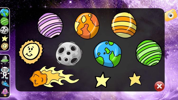 Space Play Set for Kids screenshot-3