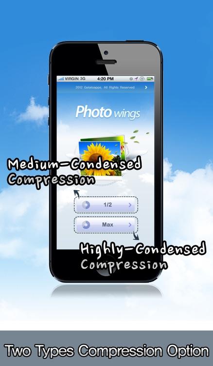 Photo Compressor-PhotoWings screenshot-4