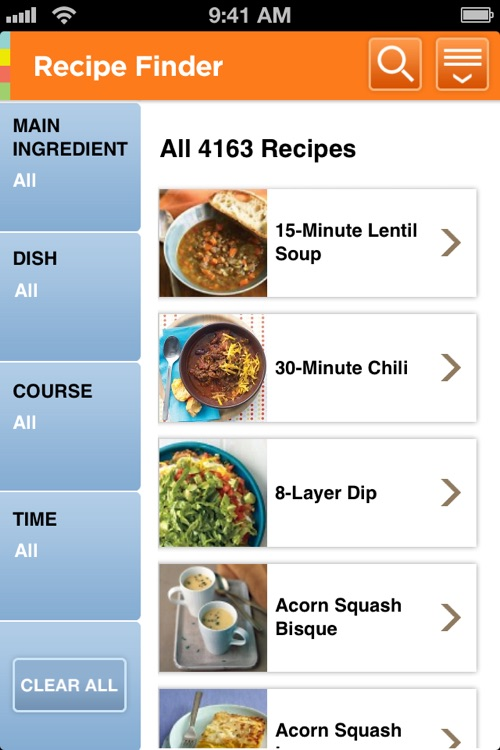 Martha's Everyday Food: Fresh & Easy Recipes screenshot-2