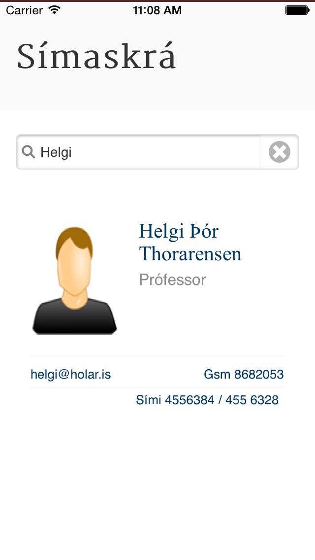 Smáugla Hóla Screenshot on iOS
