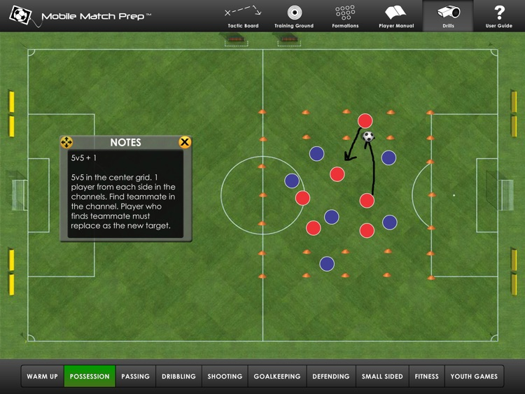 MMP Soccer screenshot-4