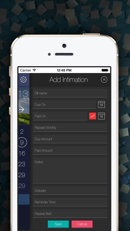 Bill Intimation - Bill Reminder, Tracker & Manager screenshot-3