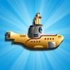 Submarine Splash Race Mania - Ocean Swimming Sub Shooting Fish Free