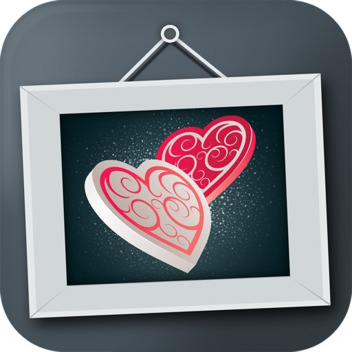 Animated Romantic Photo Frames icon