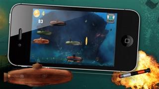 Submarinos batalla Angry - Un juego submarino de guerra!Captura de pantalla de4
