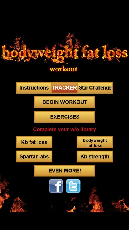 Body Weight Fat loss Workout