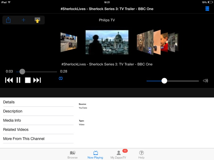Philips TV Media Player HD screenshot-3
