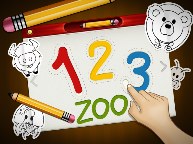 ‎123 Zoo: Writer FREE Screenshot