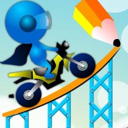 Stunt Draw Rider : Create Your Track!