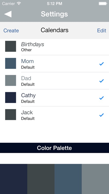 Calendar All - Organize family schedule like a wall calendar, use as task manager, event planning tool, family activity planner, all in multiple calendars from one place. screenshot-3