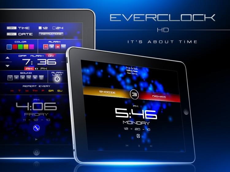 Everclock HD :: Alarm Clock