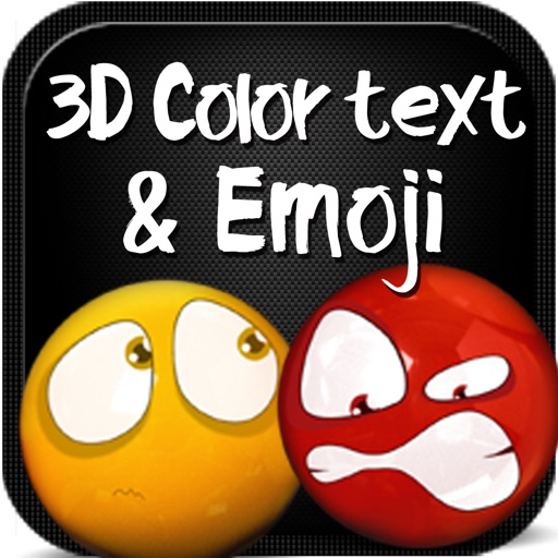 Color Text, Animated 3D Emoji & Multi Emoticons