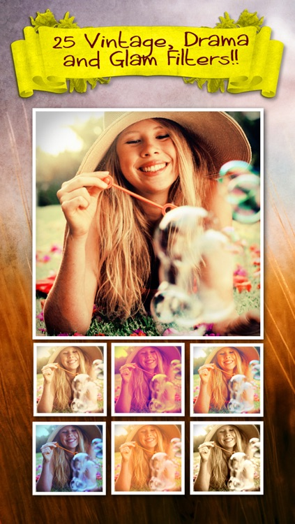 Vintaframe Pro - photo collage & scrapbooking frames for Instagram and twitter screenshot-3