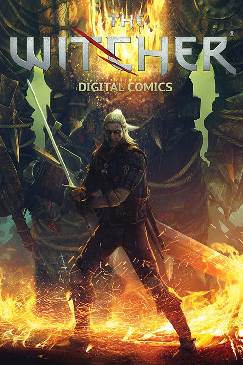 The Witcher 2 Interactive Comic Book
