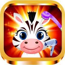 Baby Little Pony Horse Hair Salon - my virtual pet beauty care makeover and nail foot spa doctor games for girls