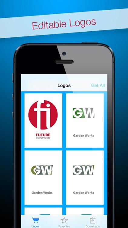 Logos for Adobe Photoshop® - Editable Royalty-Free Templates