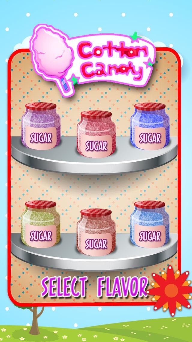 空の綿菓子の創作者 - 子供のための料理ゲームのスクリーンショット2