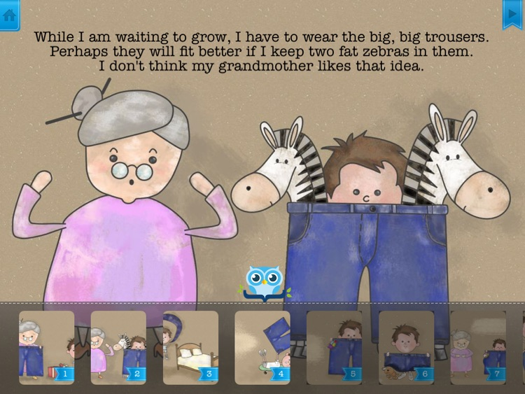My Big Trousers - Have fun with Pickatale while learning how to read!