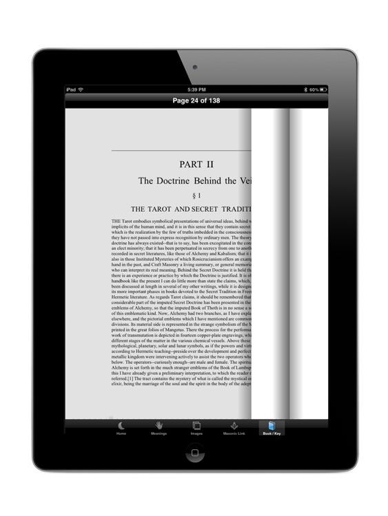 Masonic Tarot for iPad