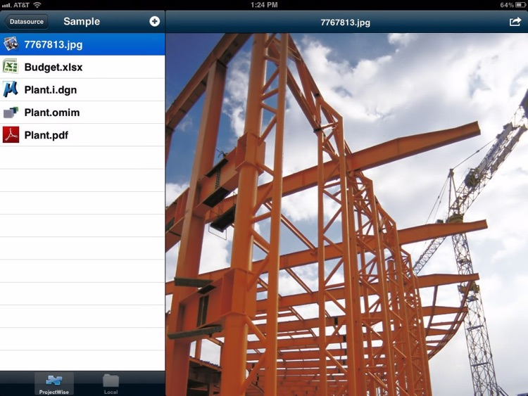 ProjectWise Explorer Mobile screenshot-1