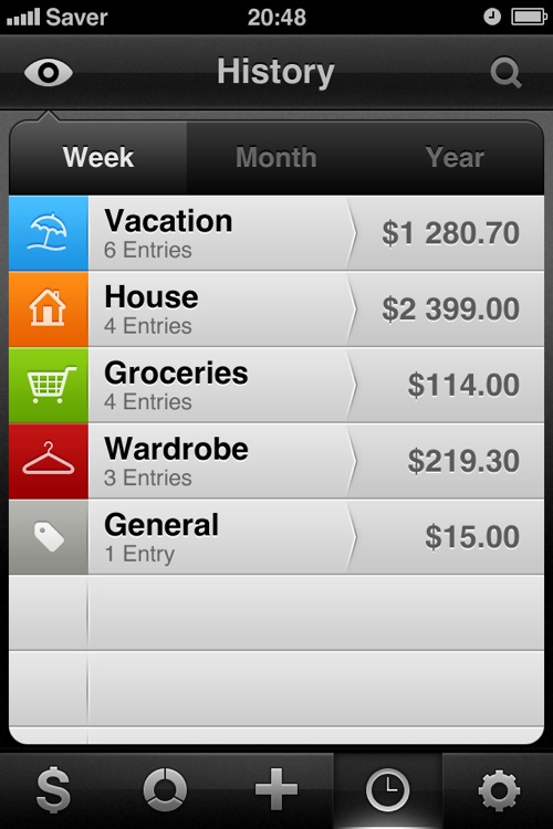 Saver ~ Control your Expenses screenshot-3