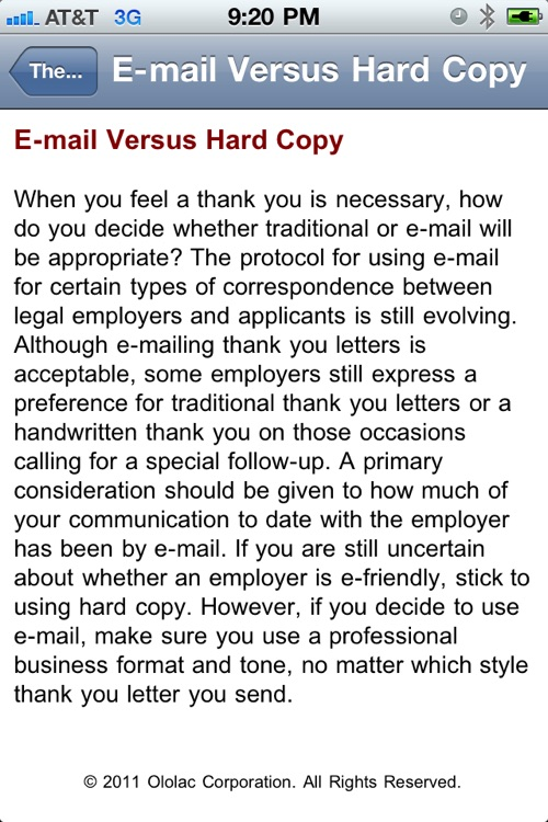 My Cover Letter screenshot-4