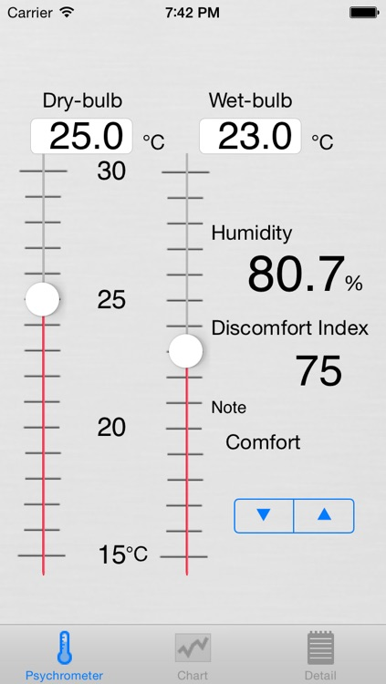 Psychrometer screenshot-1