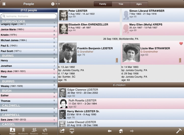 Reunion for iPad