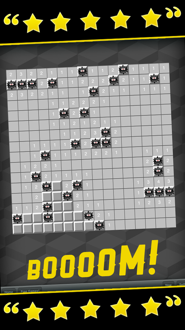Minesweeper Skill Game - Pro Classic Edition screenshot three