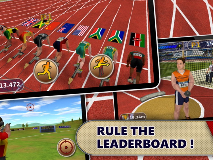 Athletics: Summer Sports HD screenshot-3