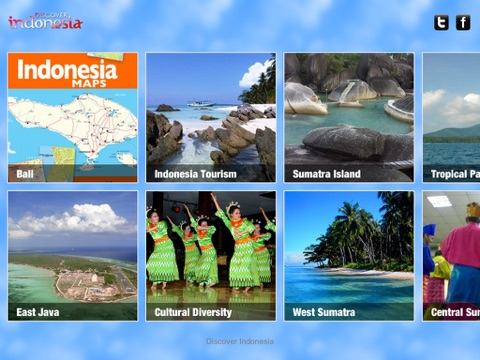 Discover Indonesia iPad