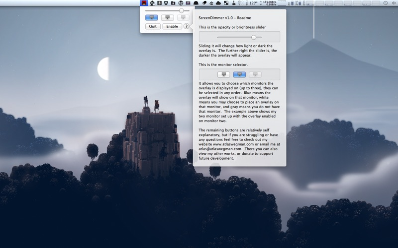 ScreenDimmer скриншот программы 3