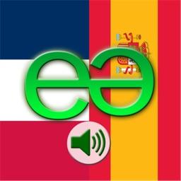 French to Spanish Voice Talking Translator Phrasebook EchoMobi Travel Speak LITE