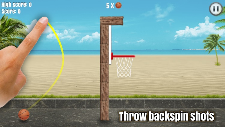 Through the Hoop - Basketball Physics Puzzler