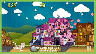 Cool Cat Adventure Race A Cute Kitty Jump Racing Game Screenshot on iOS