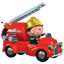 Little Boy Leon's fire engine FREE