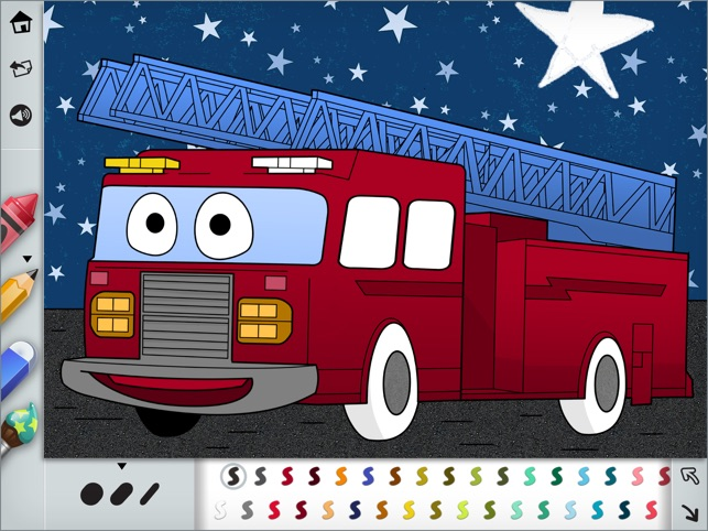 Colouring Book Cars And Trucks For Kids On The App Store