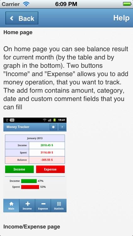 Money Tracker App screenshot-3