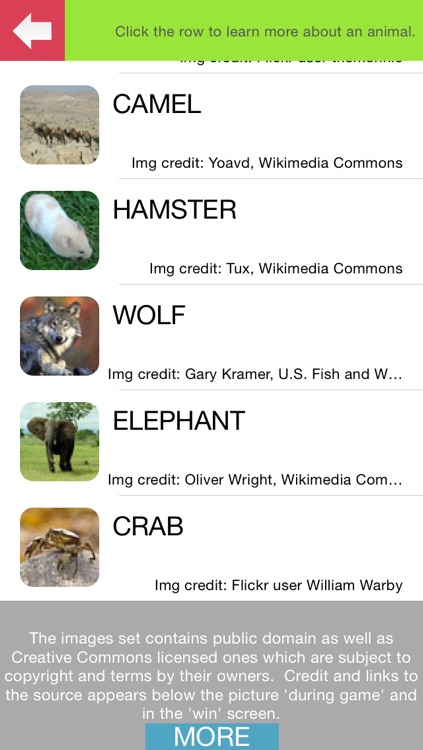 What's The Animal Name (100 Puzzles) screenshot-4