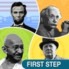 Guess Who's Who : First Step App to identify, learn, research homework projects on famous people that shaped the world. Scientists, Nobel Prize Winners, US Presidents, and Global Leaders - iPadアプリ